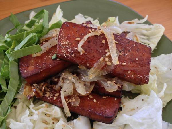 Baked Vietnamese-Style Barbecue Tofu