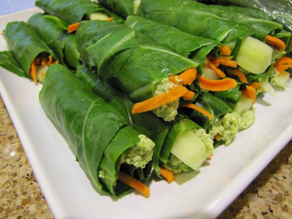 Photo: Green Wraps