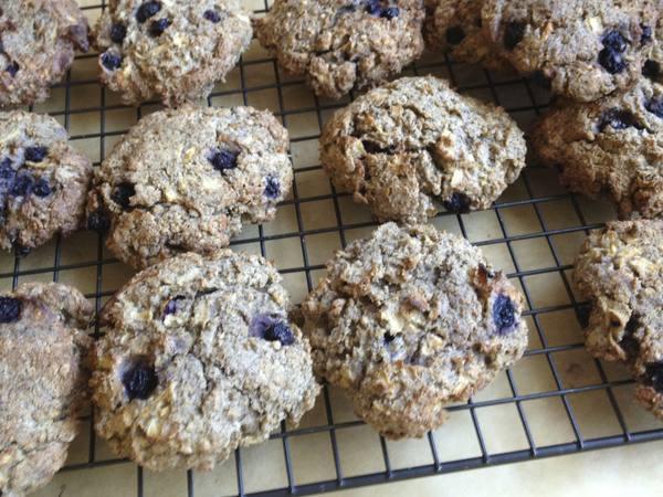 Whole Wheat Blueberry Scones