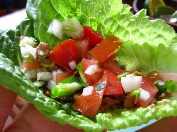 Photo: Raw Lettuce Tacos