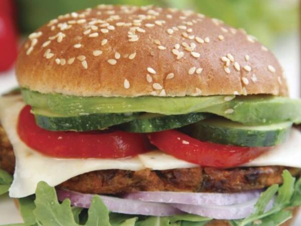Photo: Spicy Black Bean Burger