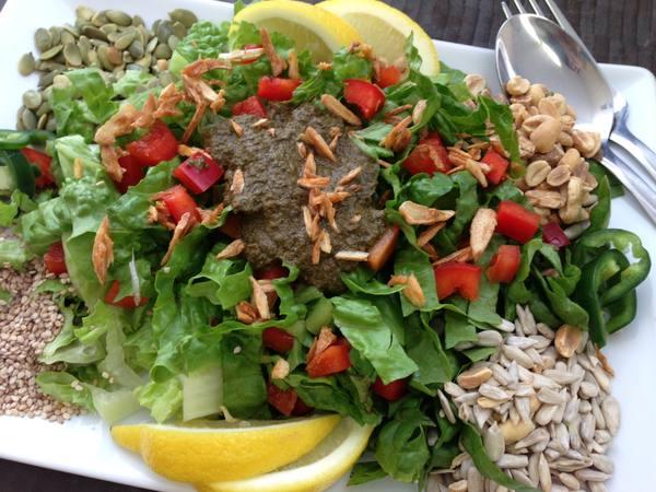 Photo: Tea Leaf Salad