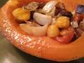 Photo: Roasted Papaya and Veggies