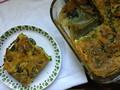 Photo: Spinach & Mushroom Strata