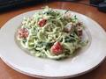 Photo: Zucchini Noodles with Herb Cream Sauce