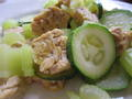 Photo: Tempeh with Zucchini and Celery