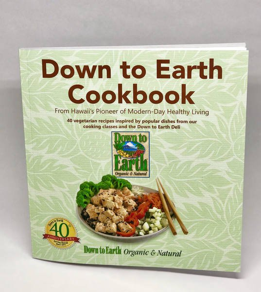 Photo: Down to Earth Cookbook Cover