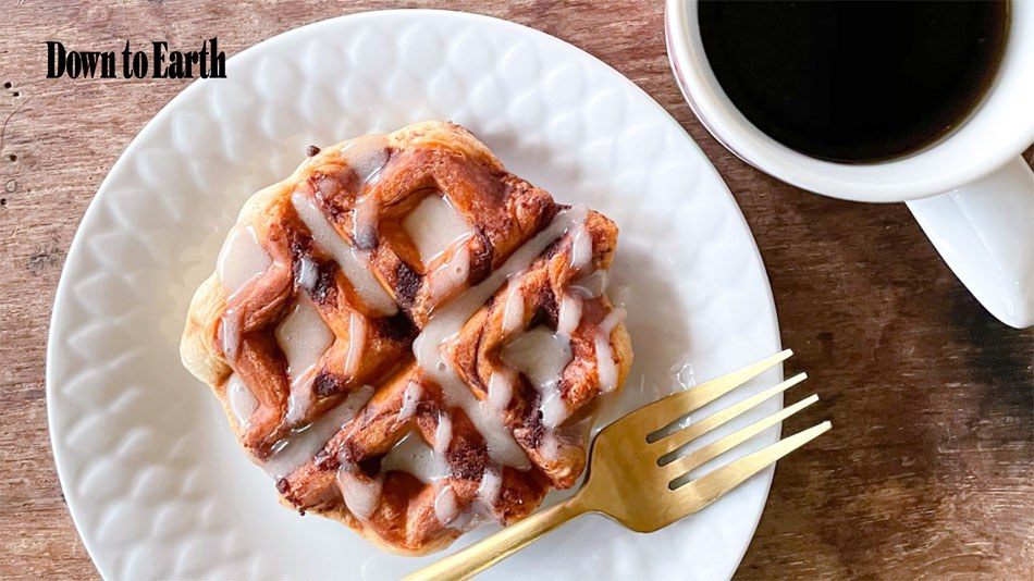 Down to Earth: Waffles and Coffee