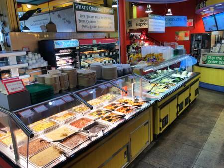 Photo: Deli Hot table and Salad Bar