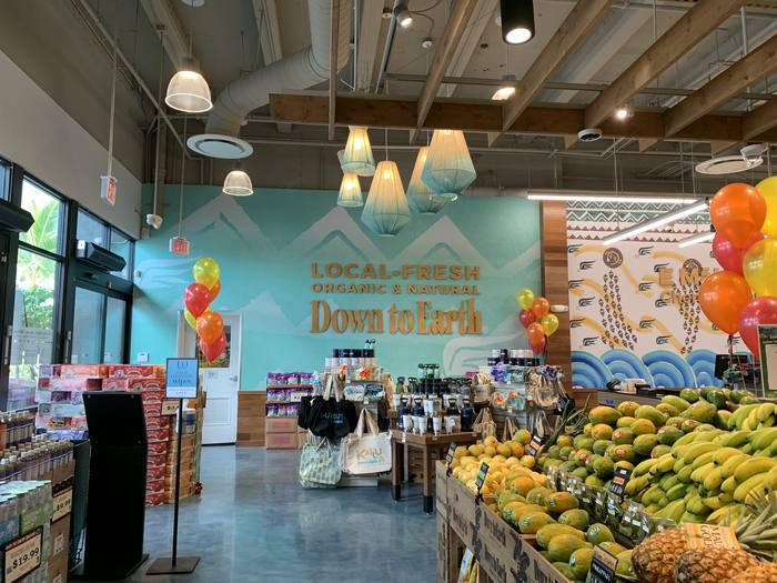 Inside the relocated Kailua store