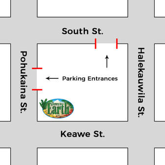 Photo: Kaka'ako Parking Map