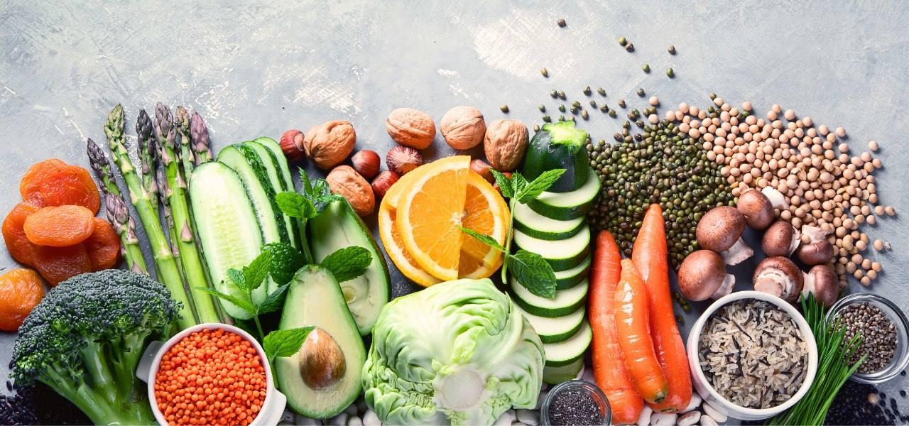 Photo: Fresh Fruits, Vegetables & Legumes