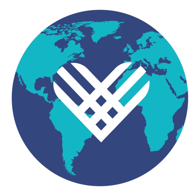 Graphic: Giving Tuesday Logo - a heart in a globe