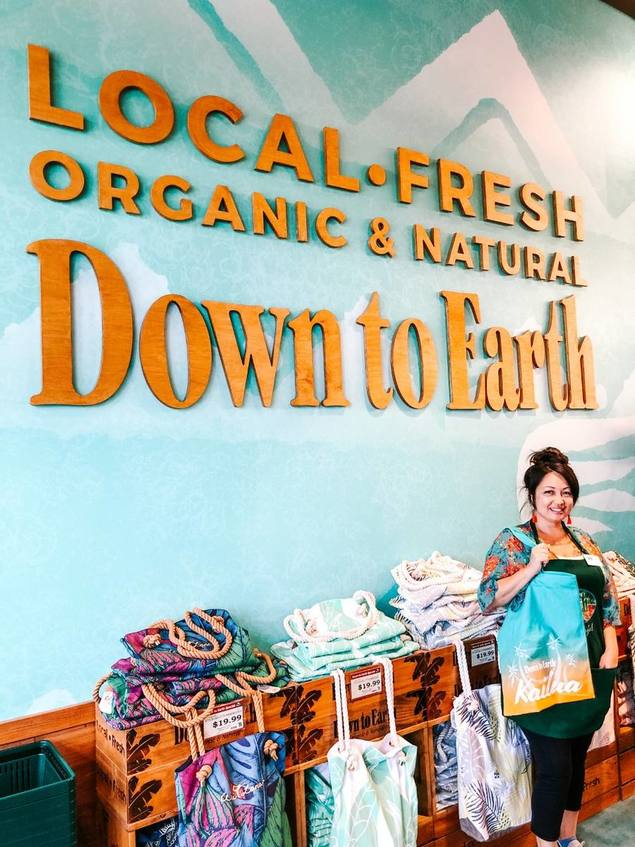 Photo: Janelle M. at Down to Earth Kailua