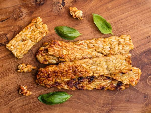 Photo: Baked Tempeh with Miso Butter