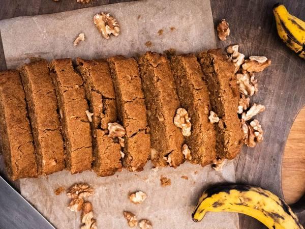 Photo: Banana Walnut Bread - Sliced