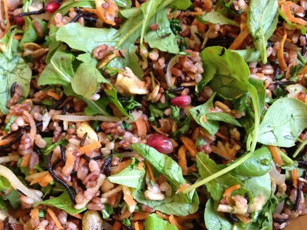Photo: Citrus Brown Rice Salad