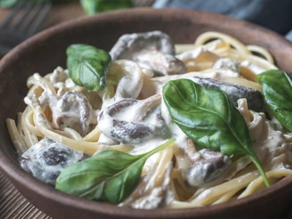 Photo: Creamy Mushroom Pasta