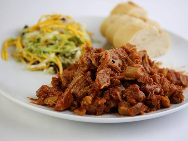 Photo: Down to Earth Tropical Barbecue Jackfruit Dish