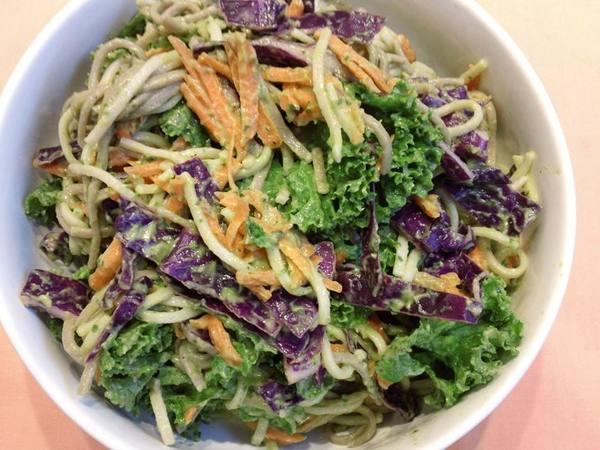 Photo: Green Soba Salad