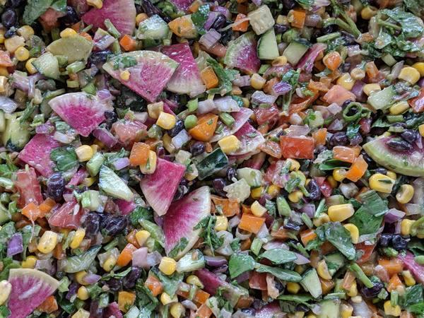 Photo: Mexican Bean Salad