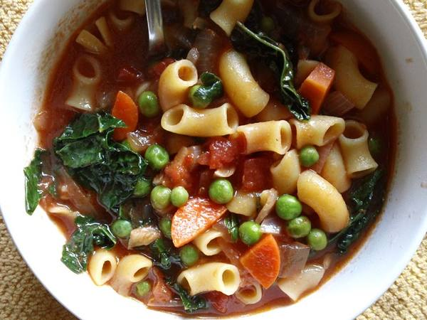 Photo: Minestrone Soup