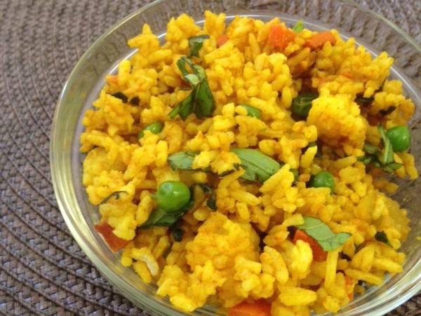 Photo: Turmeric Garlic Fried Rice
