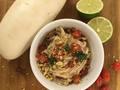 Photo: Daikon Tomato Salad