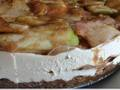 Photo: Pear and Apple Cheesecake