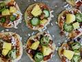 Photo: Vegan Jalapeño, Pineapple, and Bacon Pizza