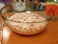 Photo: Bowl of Watermelon Agua Fresca