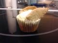 Photo: Golden Snitch Cupcake