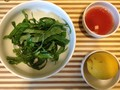 Photo: Leafy Greens with Umeboshi and Lemon