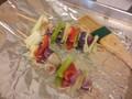 Photo: Baked Vegetable Yakitori