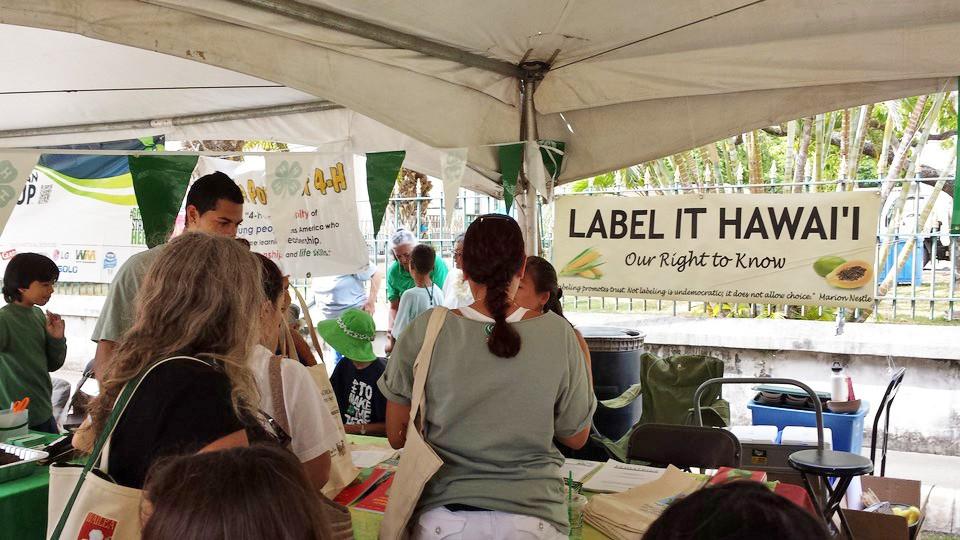 Photo: Label It Hawaii (LIH) Information Booth